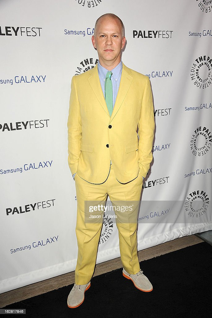 Producer Ryan Murphy attends the PaleyFest Icon Award presentation at The Paley Center for Media on February 27, 2013 in Beverly Hills, California.