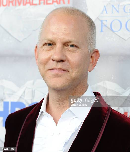 Producer Ryan Murphy attends the premiere of 'The Normal Heart' at The Writers Guild Theatre on May 19 2014 in Beverly Hills California