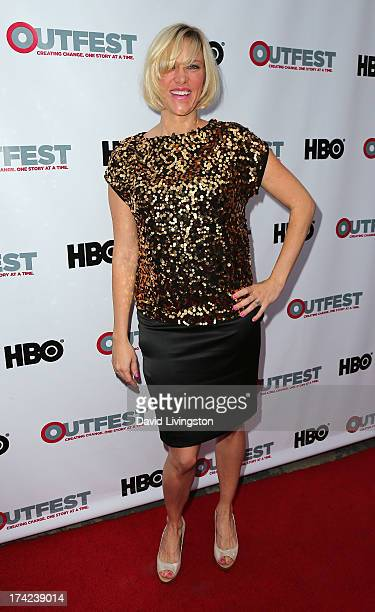 Producer Samantha Kern attends the 2013 Outfest Film Festival Closing Night Gala of 'GBF' at the Ford Theatre on July 21 2013 in Hollywood California