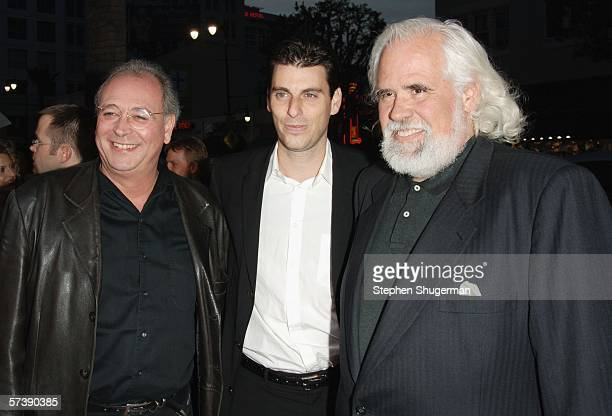 Producer Samuel Hadida Sony's Marc Weinstock and Vice Chairman Sony Pictures Entertainment Jeff Blake attend the premiere of TriStar Pictures'...