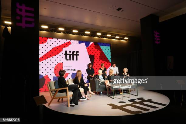 Producer Sarah Polley Actor Edward Holcroft executive producer Noreen Halpern actor Kerr Logan director Mary Harron actress Sarah Gadon...