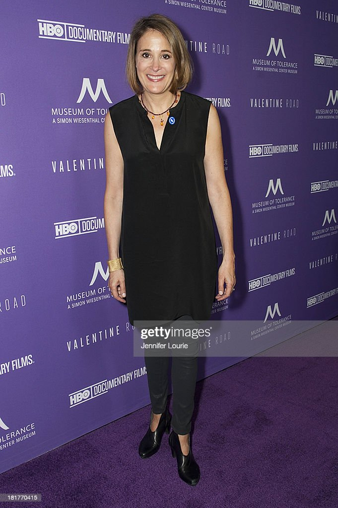 Producer Sasha Alpert attends the Los Angeles premiere screening of 'Valentine Road' at The Museum of Tolerance on September 24, 2013 in Los Angeles, California.