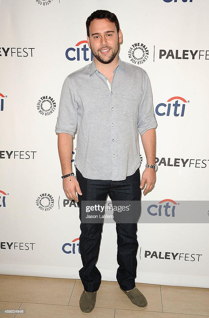 Producer Scooter Braun attends the CBS preview panel at the 2014 PaleyFest Fall TV Preview at The Paley Center for Media on September 7 2014 in...