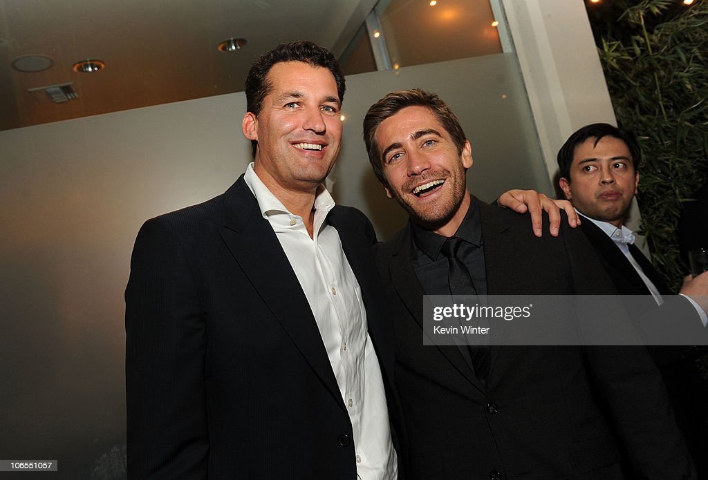 Producer Scott Stuber and actor Jake Gyllenhaal attend 'Love Other Drugs' Opening Night Gala after party durring AFI FEST 2010 presented by Audi at...