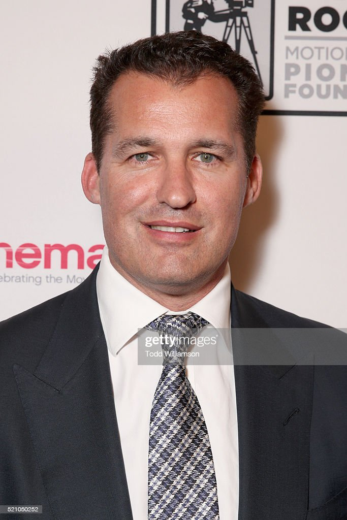 "Producer Scott Stuber attends the 2016 Will Rogers ""Pioneer of the Year"" Dinner Honoring Donna Langley at Caesars Palace during CinemaCon the..."