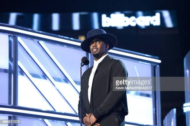 Producer Sean 'Diddy' Combs speaks onstage during the 2017 Billboard Music Awards at TMobile Arena on May 21 2017 in Las Vegas Nevada