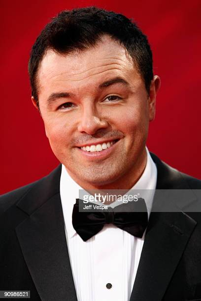 Producer Seth MacFarlane arrives at the 61st Primetime Emmy Awards held at the Nokia Theatre on September 20 2009 in Los Angeles California