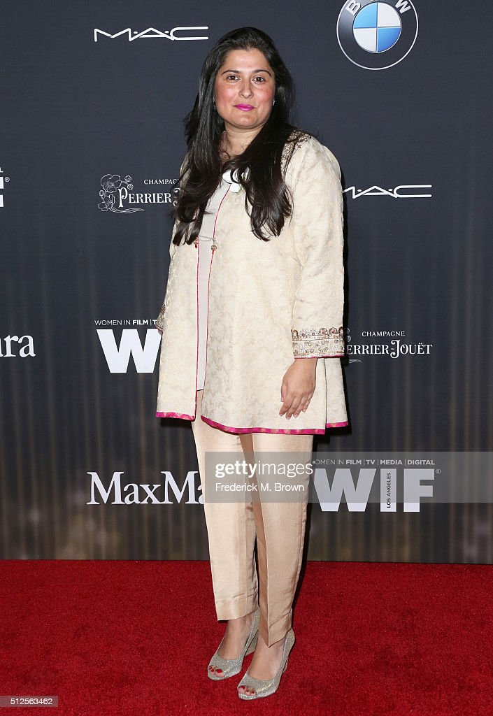 Producer <a gi-track='captionPersonalityLinkClicked' href=/galleries/search?phrase=Sharmeen+Obaid-Chinoy&family=editorial&specificpeople=5581145 ng-click='$event.stopPropagation()'>Sharmeen Obaid-Chinoy</a> attends Ninth Annual Women in Film Pre-Oscar Cocktail Party presented by Max Mara, BMW, M-A-C Cosmetics and Perrier-Jouet at HYDE Sunset: Kitchen + Cocktails on February 26, 2016 in West Hollywood, California.
