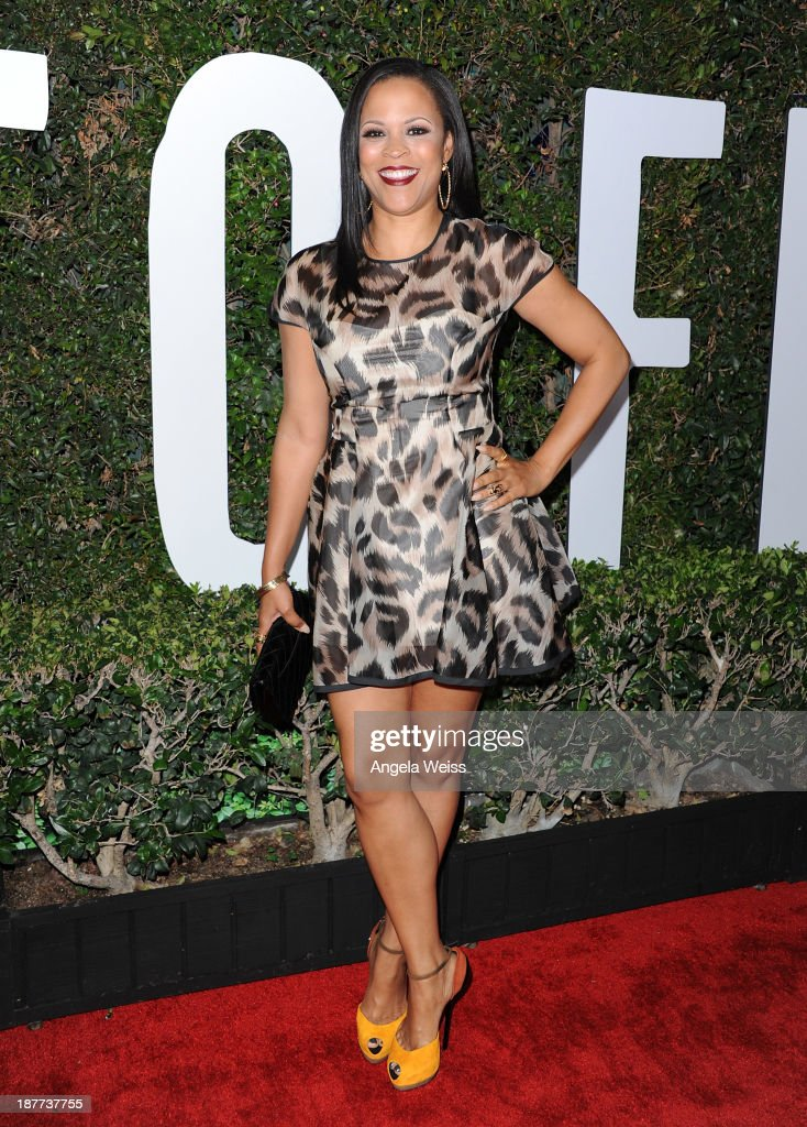 Producer Shaunie O'Neal attends the premiere of The Weinstein Company's 'Mandela: Long Walk To Freedom' at ArcLight Cinemas Cinerama Dome on November 11, 2013 in Hollywood, California.