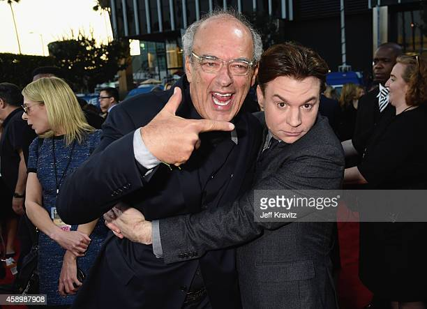 Producer Shep Gordon and actor Mike Myers attend the 18th Annual Hollywood Film Awards at The Palladium on November 14 2014 in Hollywood California