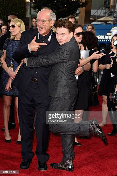 Producer Shep Gordon and actor/director Mike Myers attend the 18th Annual Hollywood Film Awards at The Palladium on November 14 2014 in Hollywood...