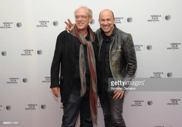 Producer Shep Gordon and designer John Varvatos attend Tribeca Talks After The Movie 'Supermensch The Legend Of Shep Gordon' during the 2014 Tribeca...