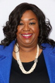 Producer Shonda Rhimes attends Academy of Television Arts Sciences' Presents an Evening with 'Scandal' at the Leonard H Goldenson Theatre on May 16...