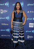 Producer Shonda Rhimes attends the 26th annual GLAAD Media Awards at The Beverly Hilton Hotel on March 21 2015 in Beverly Hills California