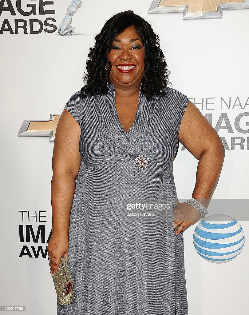Producer Shonda Rhimes attends the 44th NAACP Image Awards at The Shrine Auditorium on February 1, 2013 in Los Angeles, California.