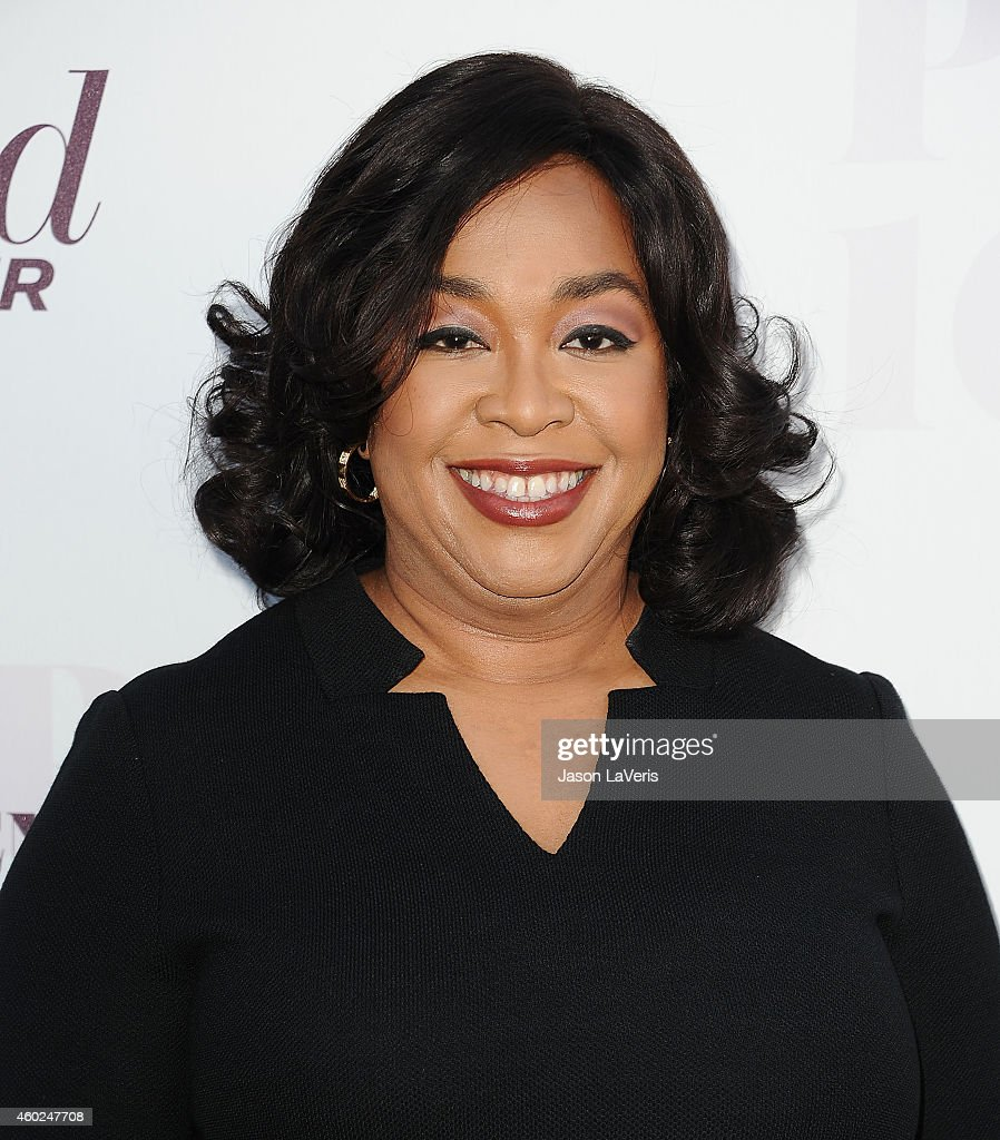 Producer Shonda Rhimes attends the Hollywood Reporter's Women In Entertainment breakfast at Milk Studios on December 10 2014 in Los Angeles California
