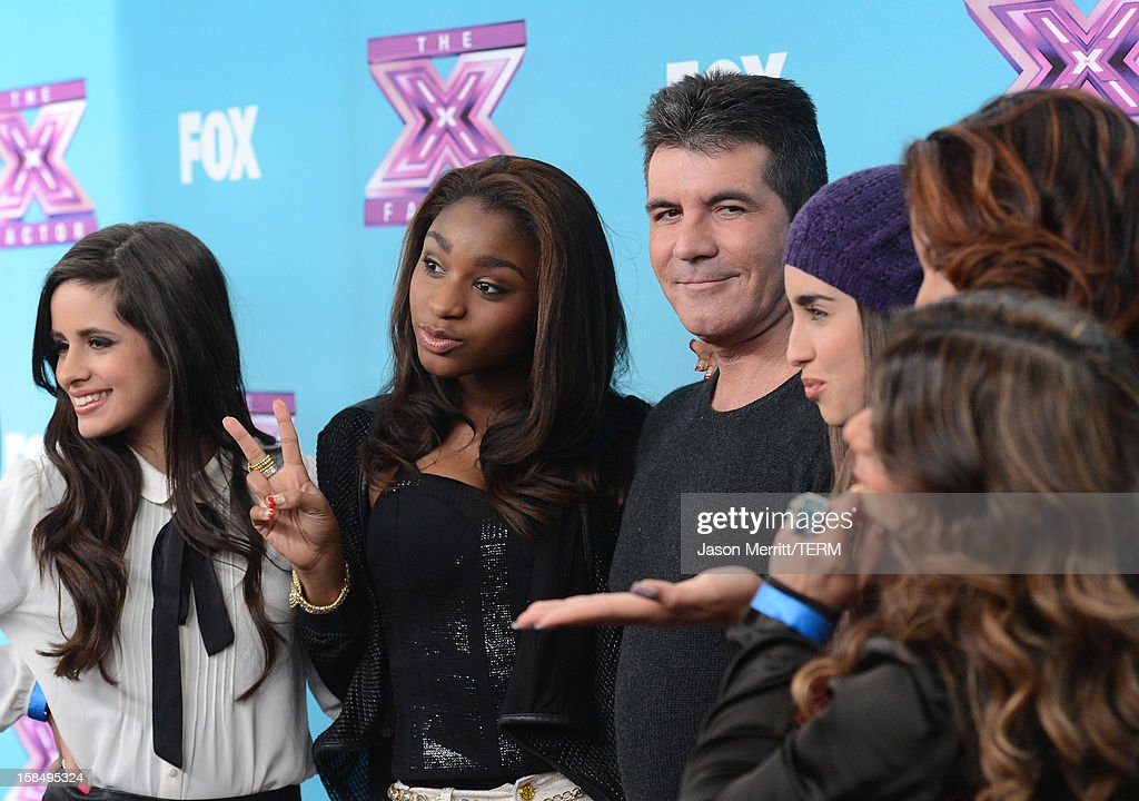 Producer Simon Cowell attends Fox's 'The X Factor' season finale news conference at CBS Television City on December 17, 2012 in Los Angeles, California.