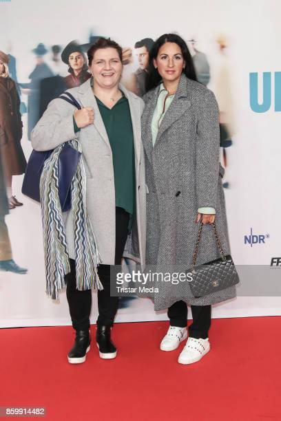 Producer Skady Lis and producer Minu Barati attend the 'Die Unsichtbaren' Premiere at Kino International on October 10 2017 in Berlin Germany