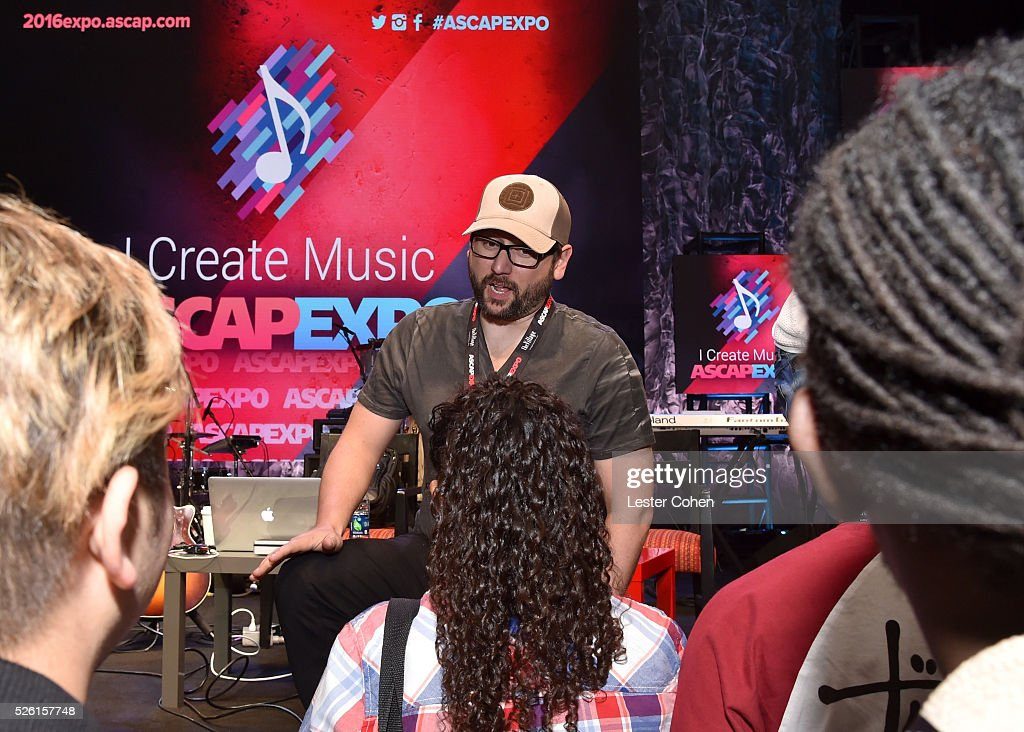 Producer, songwriter Chris DeStefano speaks onstage at the 2016 ASCAP 'I Create Music' EXPO on April 29, 2016 in Los Angeles, California.