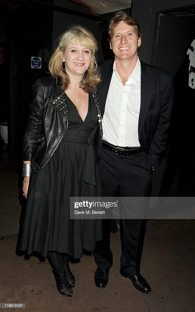 Producer <a gi-track='captionPersonalityLinkClicked' href=/galleries/search?phrase=Sonia+Friedman&family=editorial&specificpeople=235880 ng-click='$event.stopPropagation()'>Sonia Friedman</a> (L) and Richard Willis attend an after party celebrating press night of the new west end production of Much Ado About Nothing at The Foundation Bar on June 1, 2011 in London, England.
