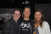 Producer Spencer Howard and director Matt DiCarlo attends the 'Rock Of Ages' Broadway Cast Reunion Concert at Highline Ballroom on January 25 2016 in...