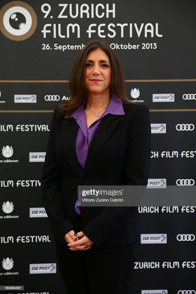 Producer <a gi-track='captionPersonalityLinkClicked' href=/galleries/search?phrase=Stacey+Sher&family=editorial&specificpeople=2082596 ng-click='$event.stopPropagation()'>Stacey Sher</a>, International Feature Film Jury Member, attends the Jury Photocall during the Zurich Film Festival 2013 on October 4, 2013 in Zurich, Switzerland.