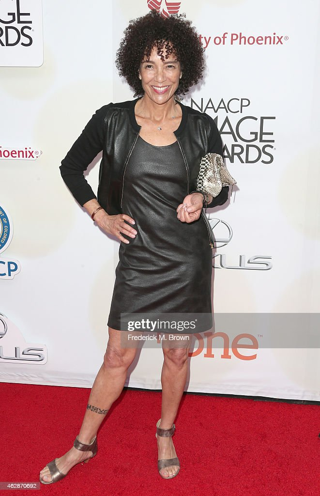 Producer Stephanie Allain attends the 46th NAACP Image Awards presented by TV One at Pasadena Civic Auditorium on February 6 2015 in Pasadena...