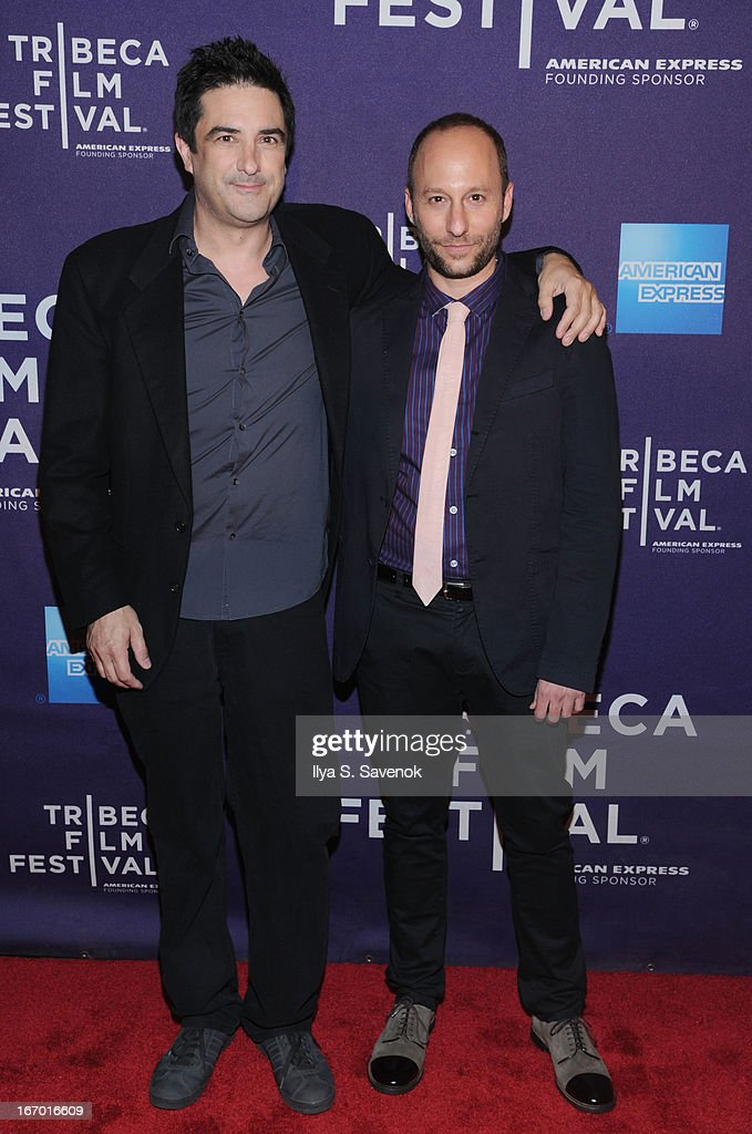 Producer Stephen Israel and director Darren Stein attend the 'G.B.F.' world premiere during the 2013 Tribeca Film Festival on April 19, 2013 in New York City.