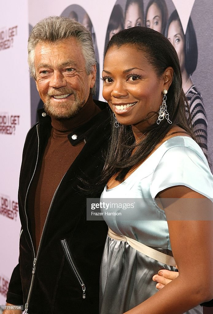 Producer Stephen J. Cannell and Vanessa Williams poses at Lionsgate's Premiere Of 'Why Did I Get Married?' held at The Cinerama Dome, Arclight Hollywood on October 4, 2007 in Los Angeles, California.