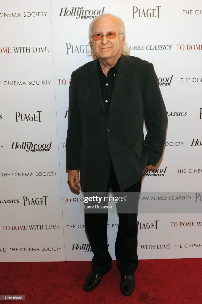 Producer Stephen Tenenbaum attends the Cinema Society with The Hollywood Reporter & Piaget and Disaronno special screening of 'To Rome With Love' at the Paris Theatre on June 20, 2012 in New York City.