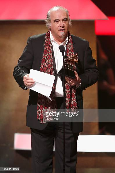 Producer Steve Berkowitz accepts the Best Historical Album award for 'The Cutting Edge 1965–1966 The Bootleg Series Vol 12' onstage at the Premiere...