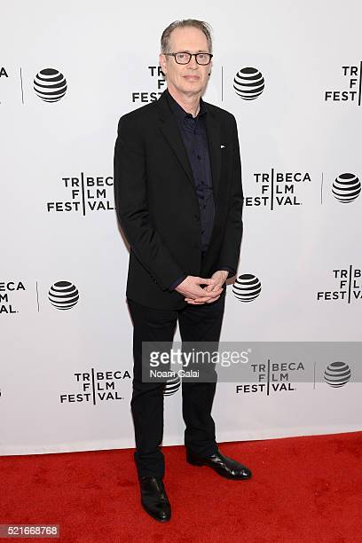 Producer Steve Buscemi attends the 'Check It' Premiere during the 2016 Tribeca Film Festival at Chelsea Bow Tie Cinemas on April 16 2016 in New York...