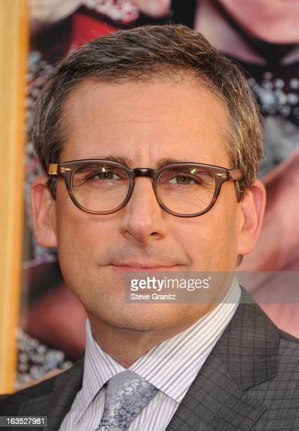 Producer Steve Carell attends 'The Incredible Burt Wonderstone' Los Angeles Premiere at TCL Chinese Theatre on March 11 2013 in Hollywood California