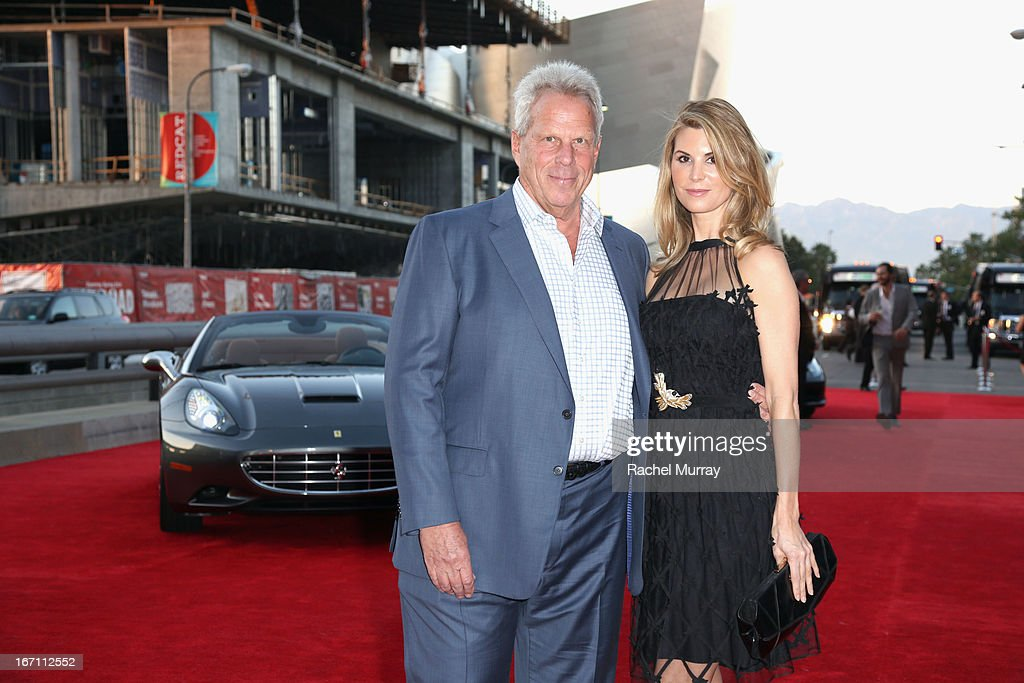 "Producer Steve Tisch and Nicole Diary attend ""Yesssss!"" MOCA Gala 2013, Celebrating the Opening of the Exhibition Urs Fischer, at MOCA Grand Avenue and The Geffen Contemporary on April 20, 2013 in Los Angeles, California."