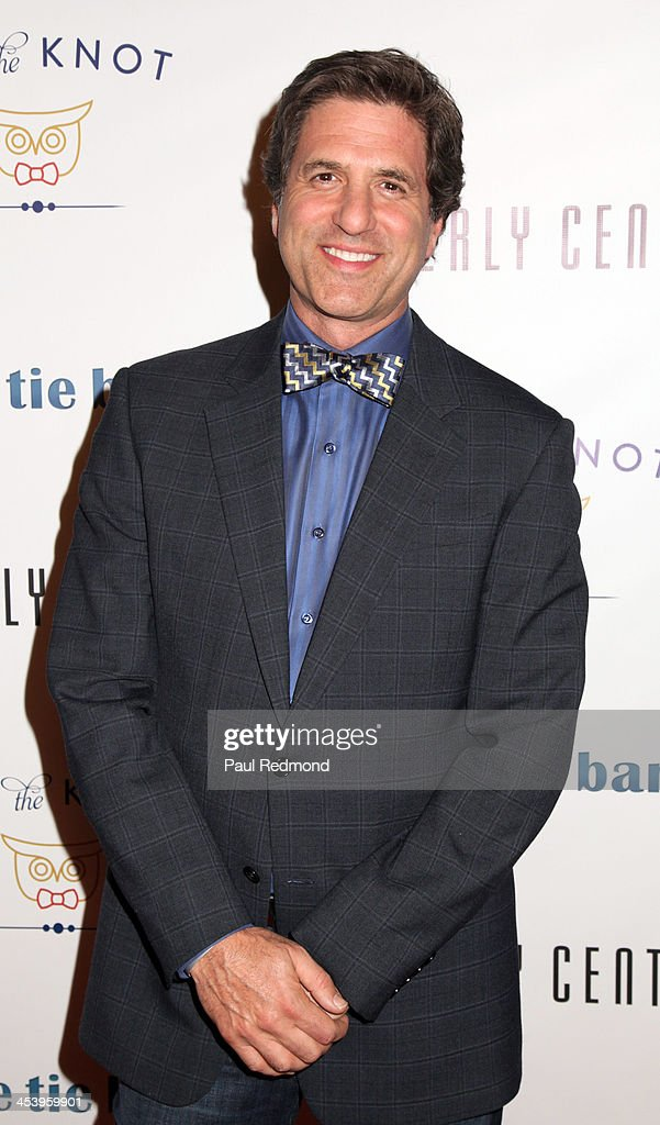 Producer Steven Levitan arrives at 'Tie The Knot' Store Grand Opening with founder Jesse Tyler Ferguson at The Beverly Center on December 5, 2013 in Los Angeles, California.