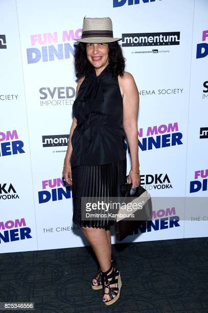 Producer Sue Kramer attends the screening Of 'Fun Mom Dinner' at Landmark Sunshine Cinema on August 1 2017 in New York City