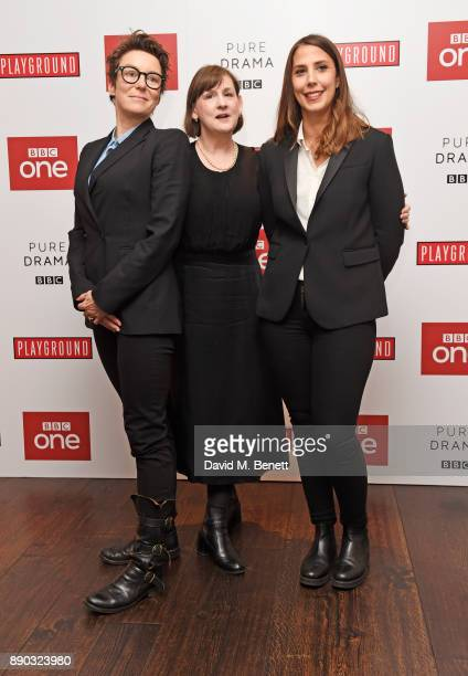 Producer Susie Liggat executive producer Heidi Thomas and director Vanessa Caswill attend a special screening of new BBC drama 'Little Women' at The...