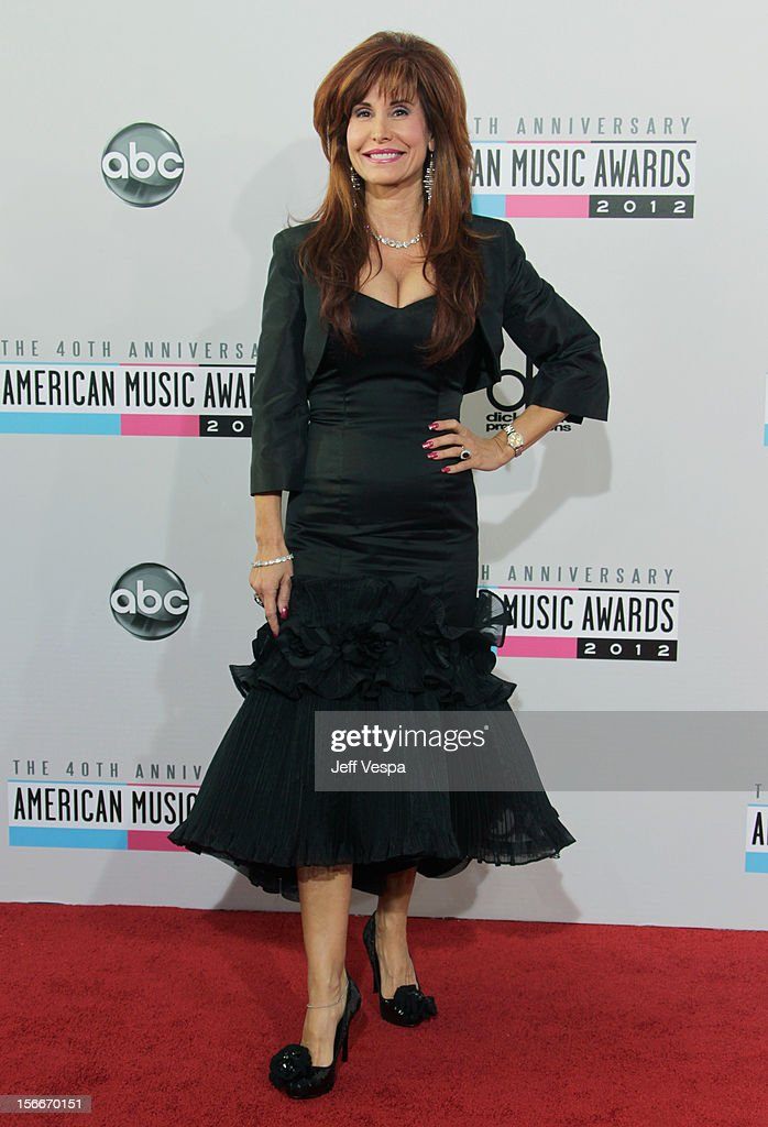 Producer Suzanne DeLaurentiis attends the 40th Anniversary American Music Awards held at Nokia Theatre L.A. Live on November 18, 2012 in Los Angeles, California.