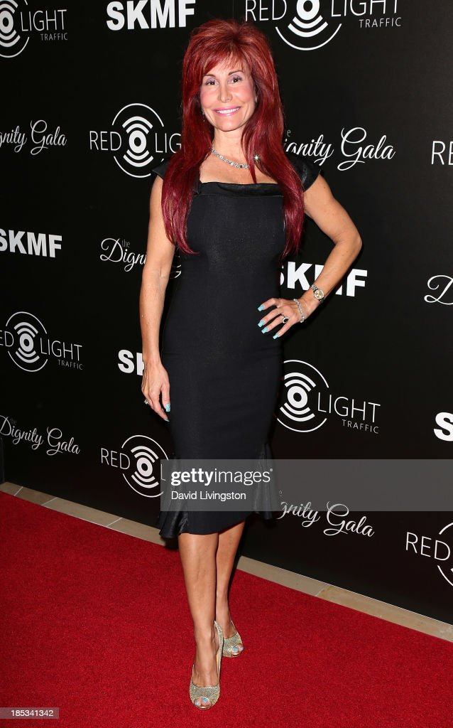 Producer Suzanne DeLaurentiis attends the launch of the Redlight Traffic app at the Dignity Gala at The Beverly Hilton Hotel on October 18, 2013 in Beverly Hills, California.