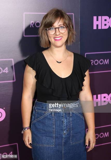 Producer Sydney Fleischmann attends HBO 'Room 104' Premiere at Hollywood Forever on July 27 2017 in Hollywood California