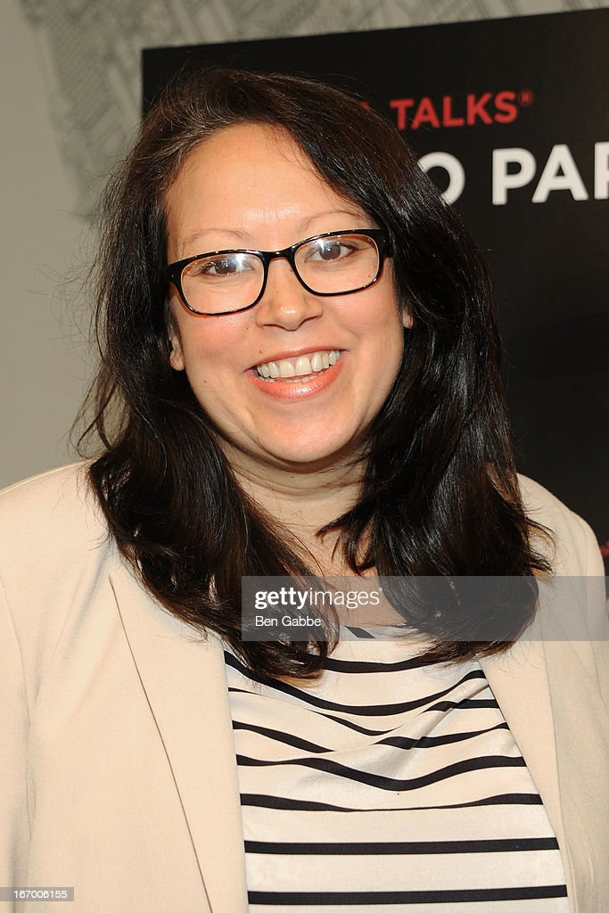 Producer Tanya Ager Meillier attends Tribeca Talks Pen To Paper: New Chick Flicks at Barnes & Noble Union Square on April 19, 2013 in New York City.