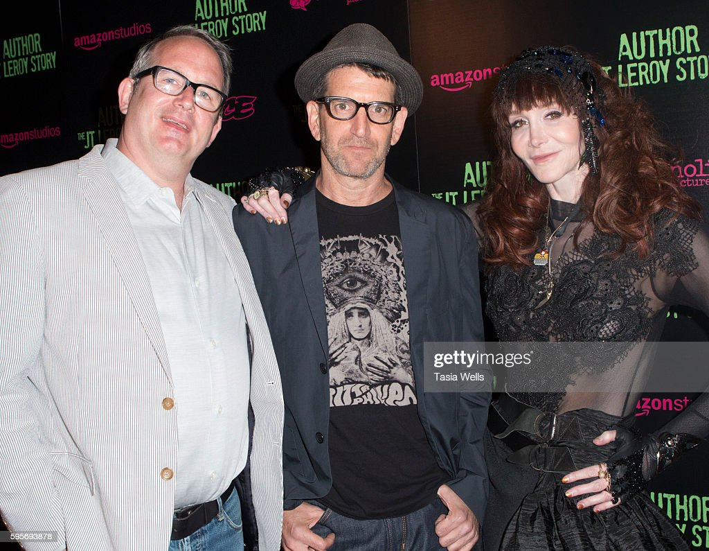 Producer Ted Hope director Jeff Feuerzeig and writer Laura Albert attend the premiere of Amazon Studios' 'Author The JT Leroy Story' at NeueHouse...