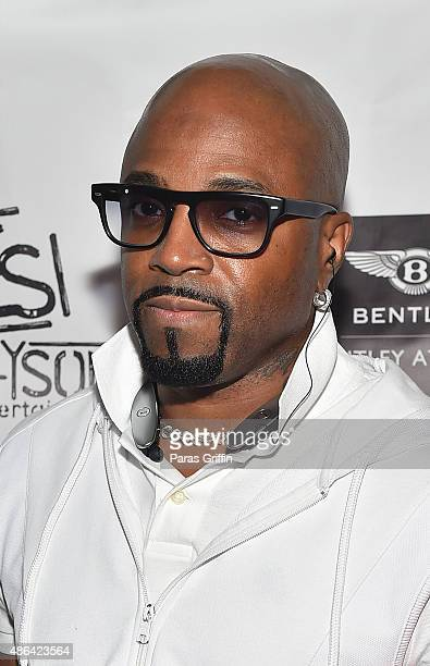 Producer Teddy Riley attends LudaDay Celebrity Bowling Spades Tournament at Bowlmor Lanes on September 3 2015 in Atlanta Georgia