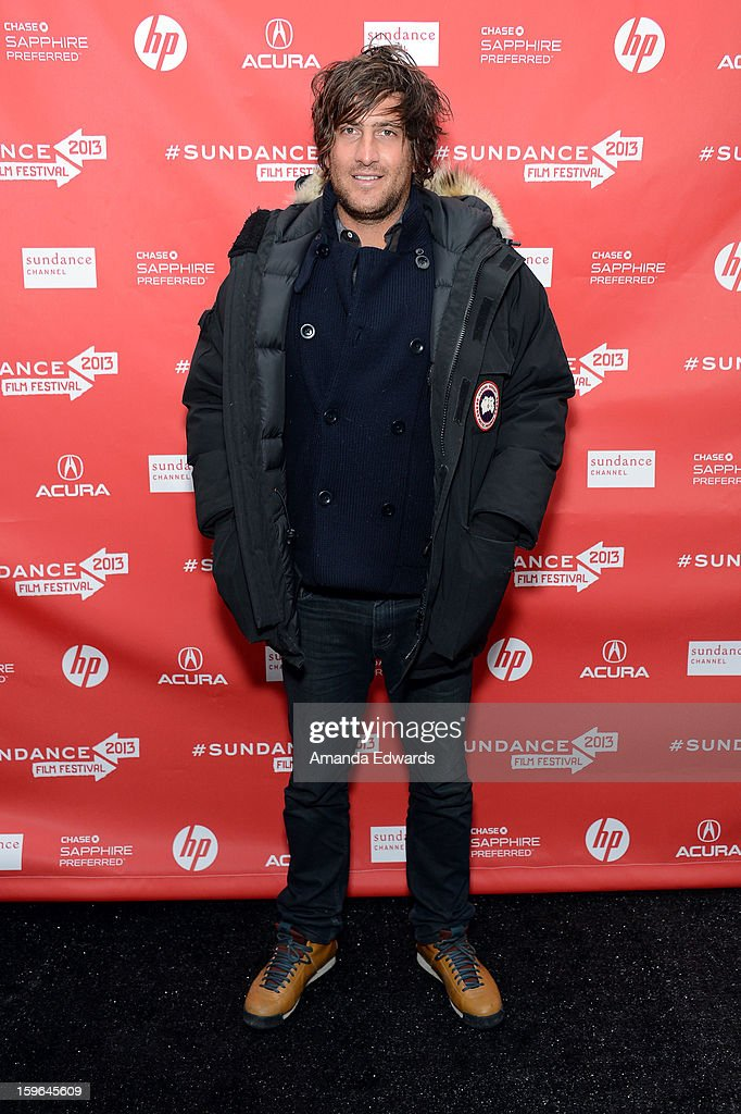 Producer Thomas Benski attends the 'Who Is Dayani' premiere during the 2013 Sundance Film Festival at The Marc Theatre on January 17, 2013 in Park City, Utah.