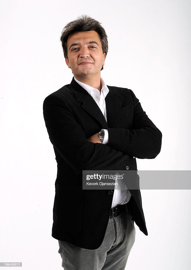 Producer Thomas Langmann poses for a portrait during the 84th Academy Awards Nominations Luncheon at The Beverly Hilton hotel on February 6 2012 in...