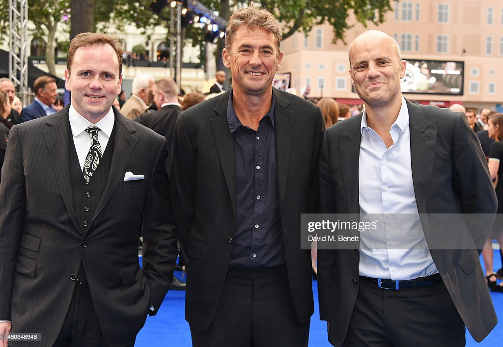 Producer Tim Bevan and guests attend the UK Premiere of 'Legend' at Odeon Leicester Square on September 3 2015 in London England