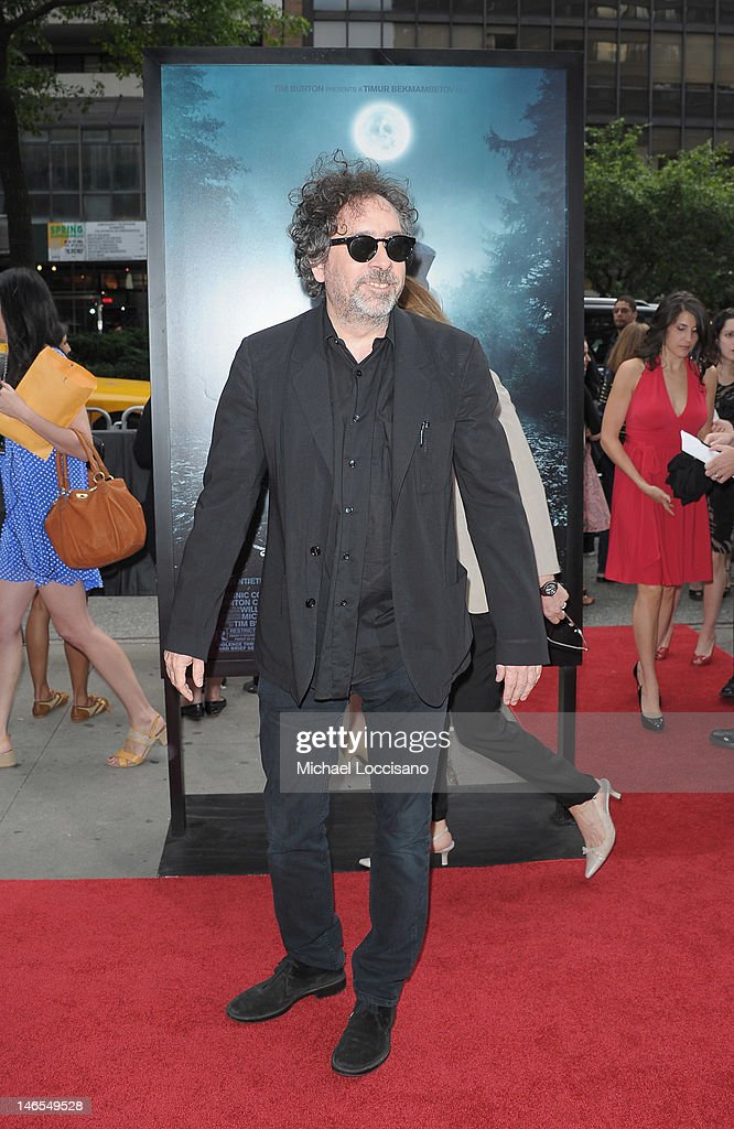 Producer <a gi-track='captionPersonalityLinkClicked' href=/galleries/search?phrase=Tim+Burton&family=editorial&specificpeople=206342 ng-click='$event.stopPropagation()'>Tim Burton</a> attends the 'Abraham Lincoln: Vampire Slayer 3D' New York Premiere at AMC Loews Lincoln Square 13 theater on June 18, 2012 in New York City.