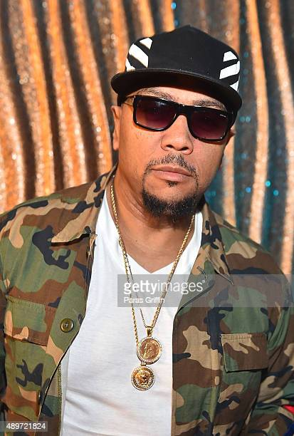 Producer Timbaland attends 'Empire' season 2 viewing party at Suite Lounge on September 23 2015 in Atlanta Georgia