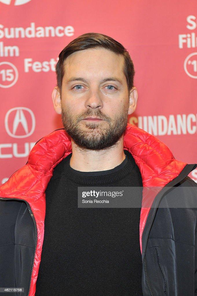 """Z For Zachariah"" Premiere - 2015 Sundance Film Festival ... Tobey Maguire 2015"