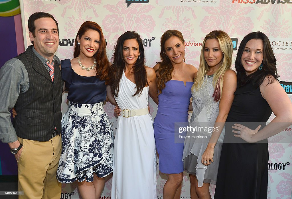 Producer Tom Forman, TV personalities Julia Allison, Emily Morse and Amy Laurent, executive producer <a gi-track='captionPersonalityLinkClicked' href=/galleries/search?phrase=Ashley+Tisdale&family=editorial&specificpeople=213972 ng-click='$event.stopPropagation()'>Ashley Tisdale</a> and producer Jessica Rhoades attend the season premiere viewing party of Bravo's 'Miss Advised' hosted by Executive Producer <a gi-track='captionPersonalityLinkClicked' href=/galleries/search?phrase=Ashley+Tisdale&family=editorial&specificpeople=213972 ng-click='$event.stopPropagation()'>Ashley Tisdale</a> held at Planet Dailies & Mixology 101 on June 18, 2012 in Los Angeles, California.